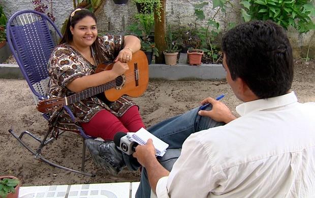 Ketlen Nascimento é uma das entrevistadas no programa (Foto: Amazônia em Revista)