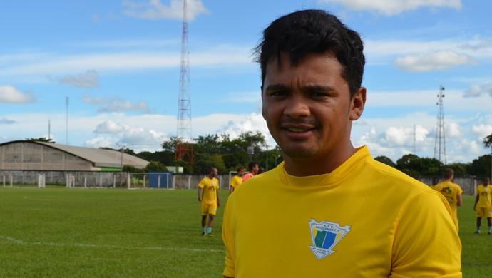 Diego Siqueira, meia do Ariquemes (Foto: Franciele do Vale)