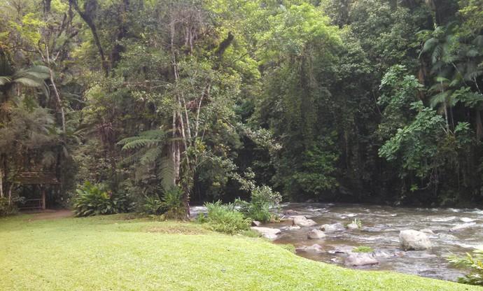 Mistura mostrou belas paisagens do Vale do Itajaí no programa (Foto: RBS TV/Divulgação)