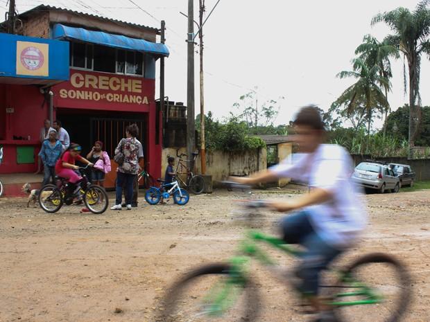 Creche da Ilha do Bororé (Foto: Rafael Stedile/Divulgação)