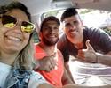 Olha a selfie: De férias, Diego Costa é tietado por paratleta destaque em SE