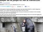 Leão-marinho 'intima' e abocanha cabeça de tratador em zoo da Áustria
