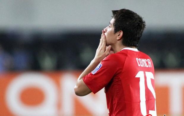 COnca Guangzhou x Al Ittihad (Foto: Reprodução / Sina.com)