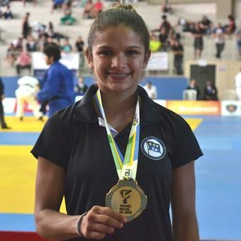 Judoca Larissa Pimenta Troféu Brasil (Foto: Filipe Rodrigues)