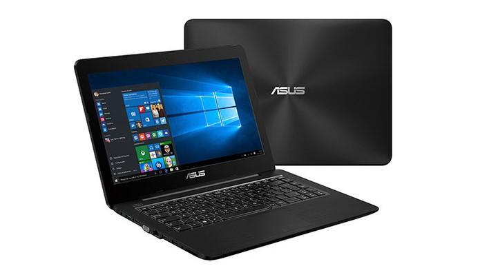 Notebook da Asus vem com Inte Core i3 e 4 GB de RAM (Foto: Divulgação/Asus)