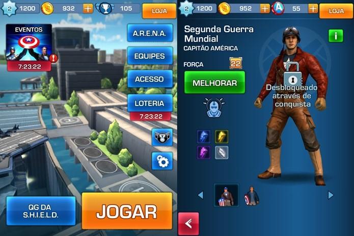 Apesar de ser um jogo pago, Captain America: TWS tem e temida barra freemium (Foto: Reprodução / Dario Coutinho)
