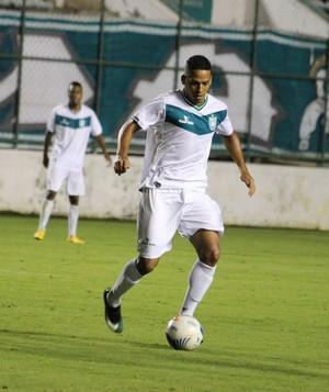 Roberto Pitio alcançou Romarinho (CEI), na artilharia do campeonato, com quatro gols (Foto: Douglas Oliveira / Gama)