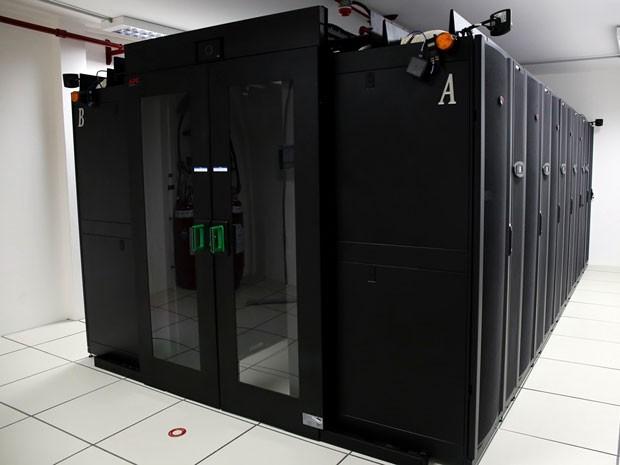 Data Center foi adquirido e já está em funcionamento na UFRN (Foto: Wallacy Medeiros/UFRN)
