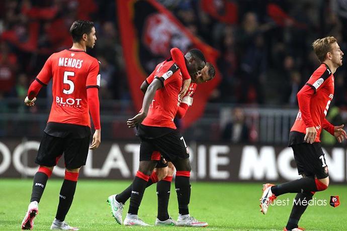 Ntep - Rennes (Foto: Reprodução/Twitter)