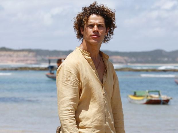 Na pele de Candinho, José Loreto dá adeus ao rótulo de galã em Flor do Caribe