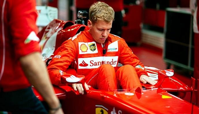 Sebastian Vettel Ferrari teste Fiorano (Foto: Ercore Colombo/Ferrari)