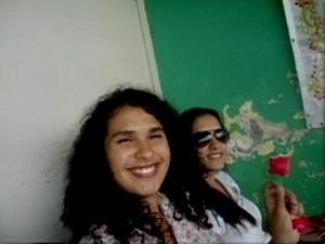 Amanda e Alana estavam viajando com os pais (Foto: Reprodução/RBS TV)