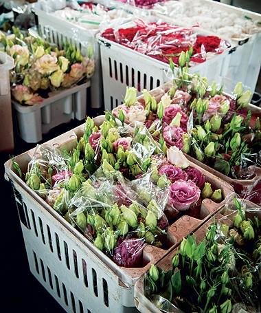 Na Mil Plantas, flores vendidas em maços. Lisiantos, R$ 18; rosas, R$ 45, com 20 botões; tulipas, R$ 25, e gérberas, R$ 15 (Foto: Ilana Bar/ Editora Globo)
