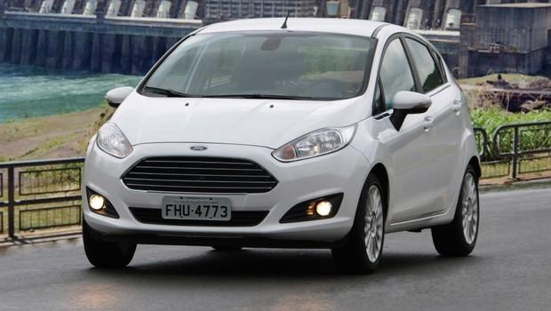 Ford New Fiesta 2014 (Foto: Divulgação)