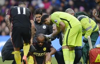 Guardiola diz que Kompany precisa de tempo para se recuperar totalmente