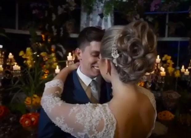 Jakson Follmann e Andressa Perkovski se casaram em outubro (Foto: Reprodução/Instagram)
