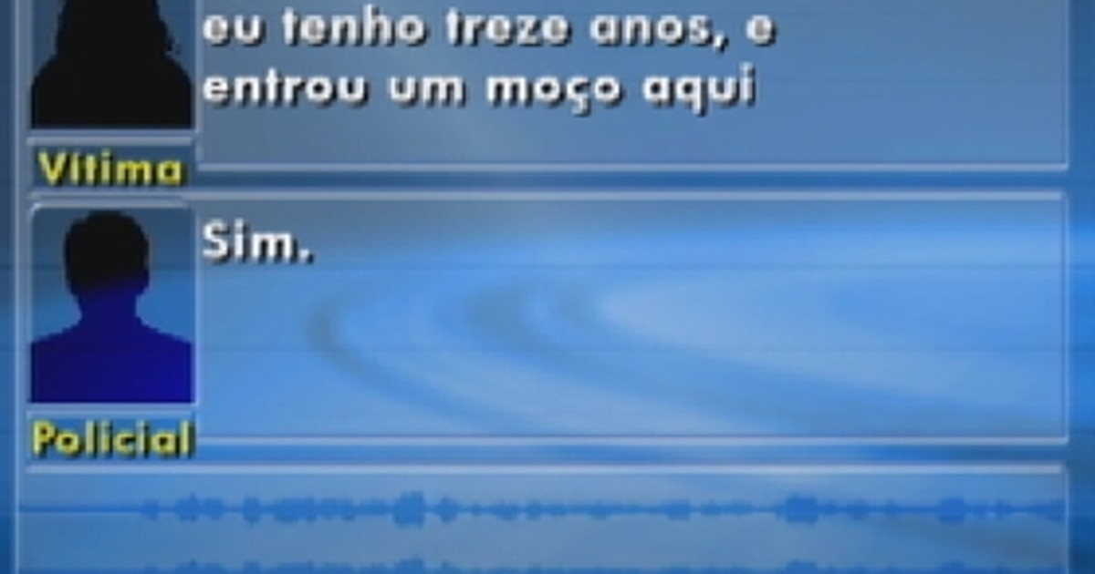 Menina se esconde de ladrão e chama a polícia; ouça o áudio - Globo.com