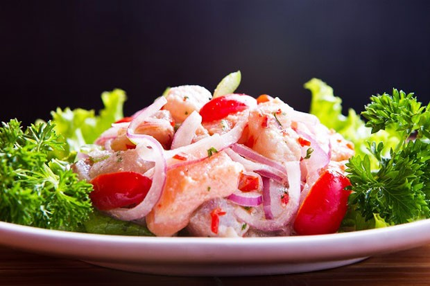 O Ceviche Salada é uma das novas opções do menu especial de verão do Aji-To (Foto: Divulgação)