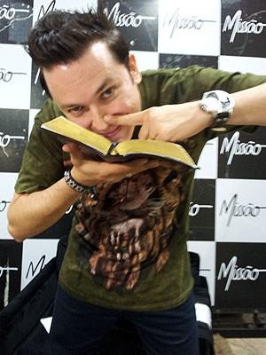 Pastor Lucinho afirma que intenção é chocar (Foto: Amanda Monteiro/ G1 ES)