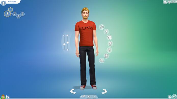 The Sims 4 traz novas ferramentas de personalização (Foto: Reprodução/Tais Carvalho)