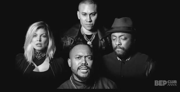 Black Eyed Peas divulga clipe (Foto: Reprodução)