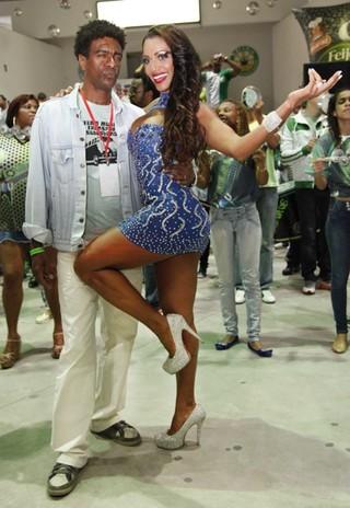 Ana Paula Evangelista e Hélio de La Pena (Foto: Divulgação/Fernando Azevedo)
