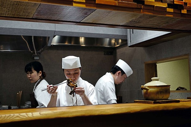Gastronomia japonesa (Foto: Alexandra Forbes)