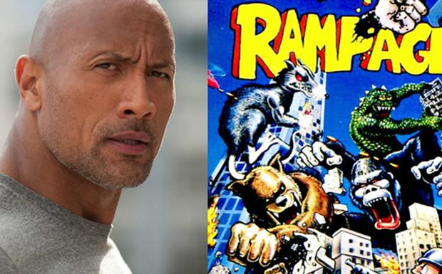 Dwayne vai estrela a adaptao de Rampage (Foto: Divulgao)