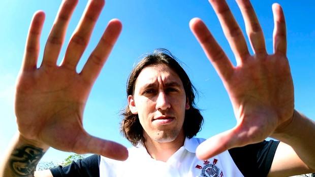 Cássio, goleiro Corinthians (Foto: Marcos Ribolli / Globoesporte.com)
