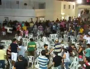 Confusão no Caicó Fight MMA (Foto: Reprodução)