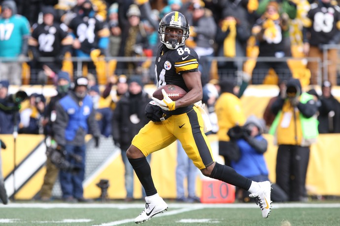 Miami Dolphins x Pittsburgh Steelers - wild card nfl - Antonio Brown (Foto: Reuters)
