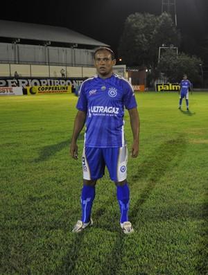 Zé Rodrigues, atacante do Parnahyba (Foto: Renan Morais/GLOBOESPORTE.COM)