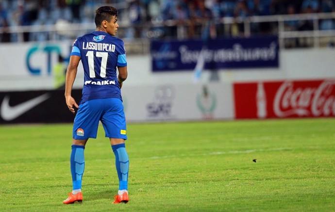 Leandro Assumpção, chonburi fc, tailândia (Foto: Chonburi FC / Divulgação)