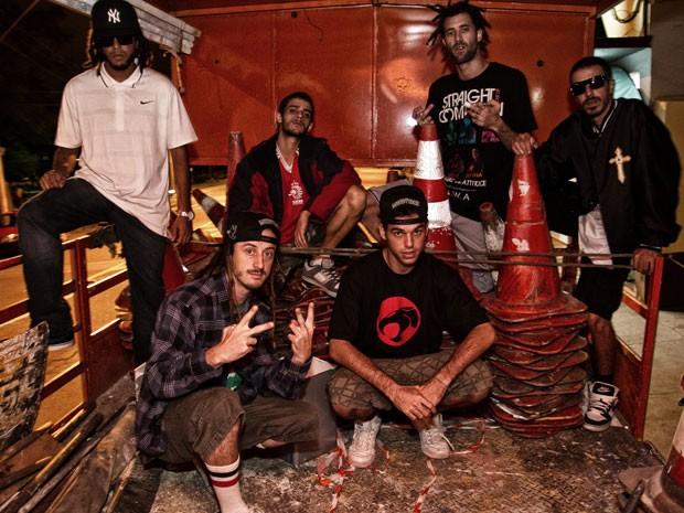 A música 'Fala nada', do Cone Crew, está na trilha sonora de Malhação (Foto: Divulgação)