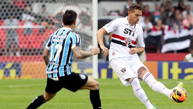 Rafael Toloi jogo São Paulo e Grêmio (Foto: Márcio Fernandes / Agência Estado)