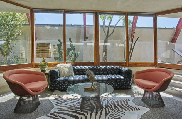 Casa projetada por John Lauter vira hotel boutique na Califórnia  (Foto: Divulgação)