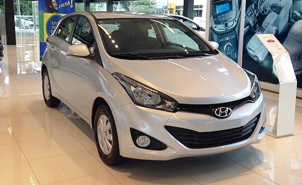 Hyundai HB20 nas lojas (Foto: Giulia Lanzuolo/Autoesporte)