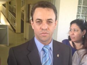 Deusny Aparecido, superintendete de polícia judiciária de Goiás 2 (Foto: Sílvio Túlio/G1)