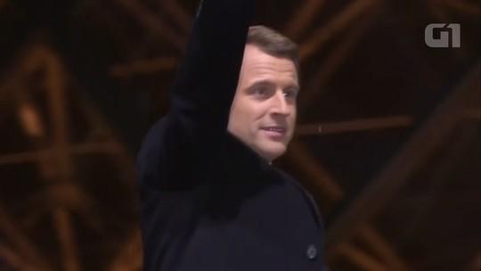 Macron toma posse como presidente da França