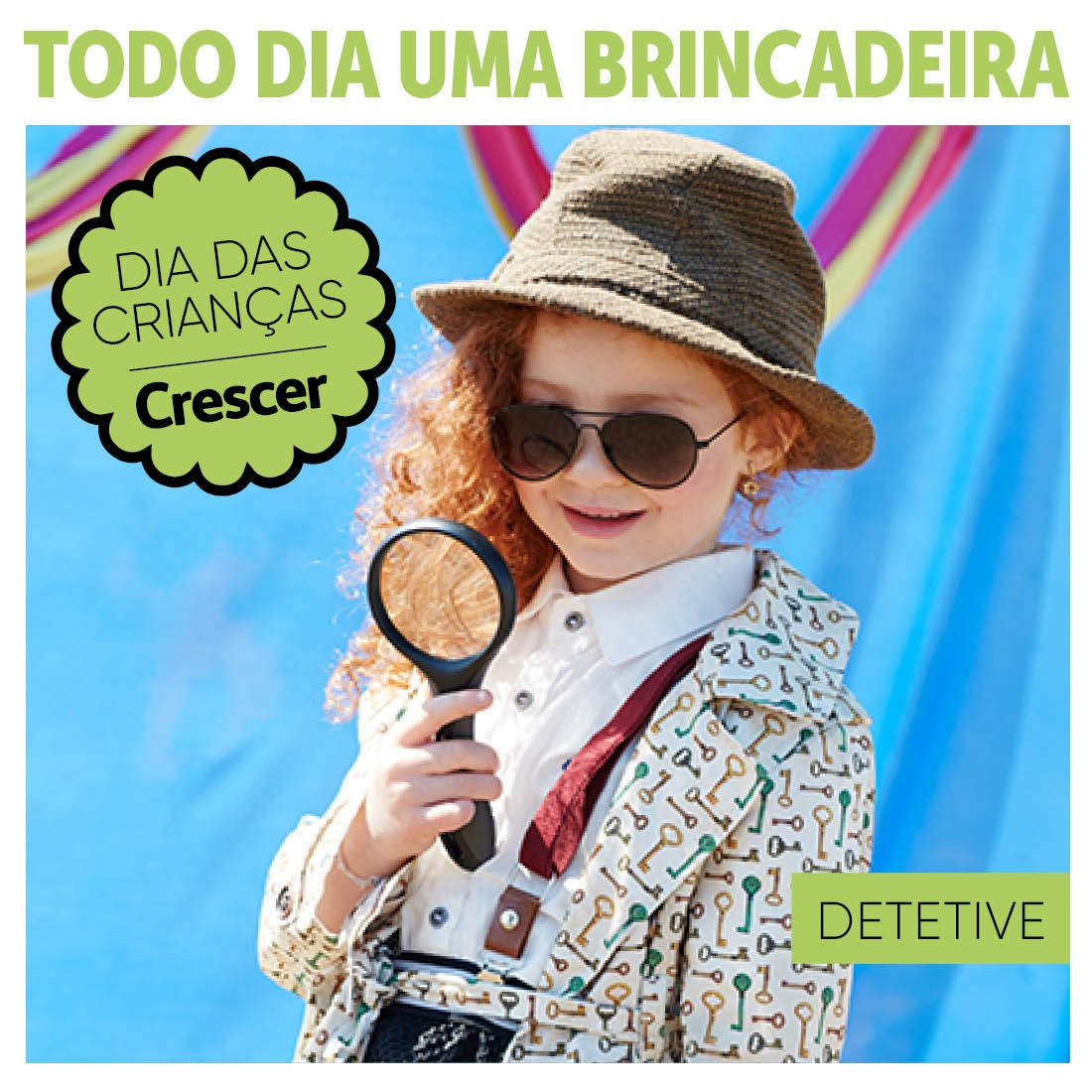 DETETIVE-TODO-DIA-UMA-BRINCADEIRA (Foto:  EDITORA GLOBO)