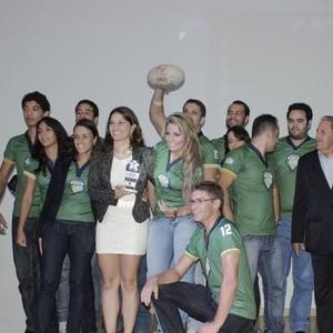 Rugby homenageado (Foto: Valdivan Veloso/Globoesporte.com)