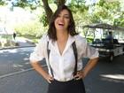 Verônica Debom, do Zorra, brinca sobre o corpo: 'Se não fosse atriz, seria obesa'
