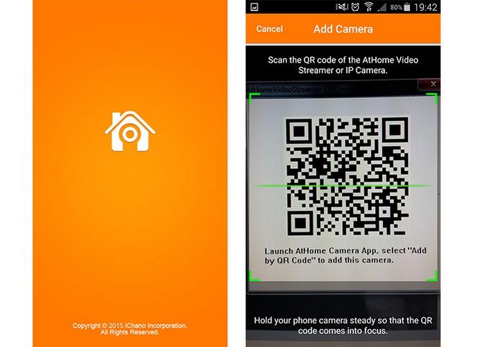 AtHome pode ser acessado pelo celular ou computador (Foto: Reprodução/Barbara Mannara)