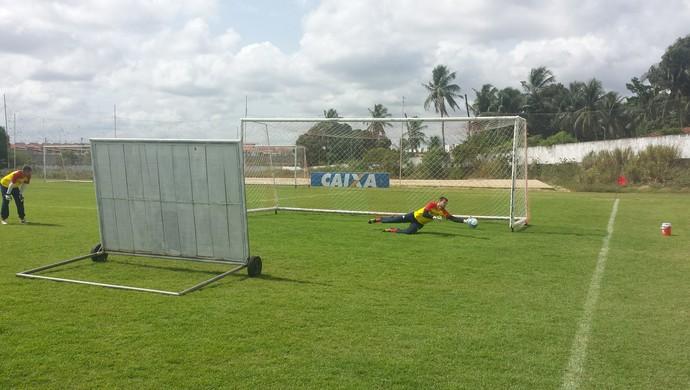 Busatto - goleiro do América-RN (Foto: Canindé Pereira/América FC)