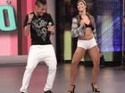 Neymar com 'moicano' caprichou no 'Ai se eu te pego' e abriu o coração; reveja!