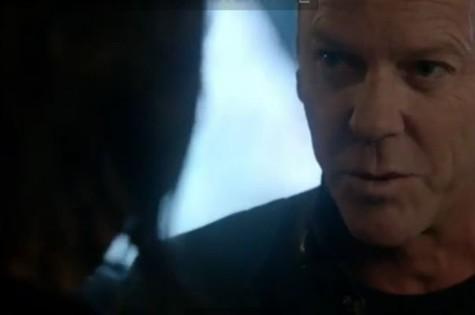 Kiefer Sutherland em cena da nova série (Foto: Reprodução)