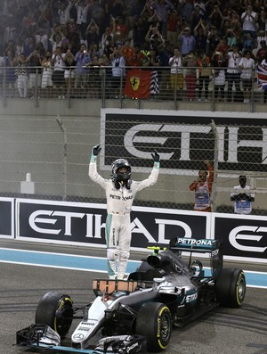 Nico Rosberg Fórmula 1 GP Abu Dhabi campeão