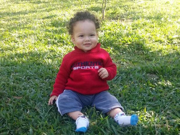 Bebê Nicollas morreu após passar mal no Hospital do Campo Limpo (Foto: Elaine Cristina Protasio da Silva/Arquivo Pessoal)