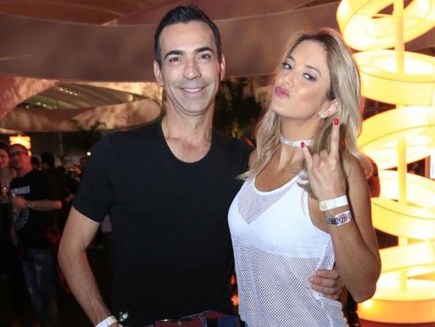 César Tralli e Ticiane Pinheiro (Foto: Marcos Rosa/ QUEM)