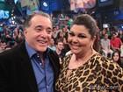 'Sempre me lembro de querer ser um pouco Tony Ramos', diz Fabiana Karla